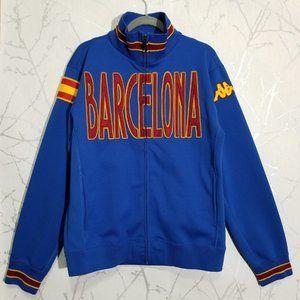 Kappa Barcelona Blue Full Zip Track Jacket